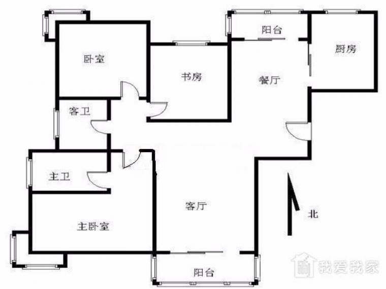 滨江奥城观澜苑 全明 满5年 双阳台 中华分校 十号梦都大街