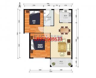 S1翠屏山 南航旁 居家精装 设施齐全 两房朝南 万科物业 价可谈