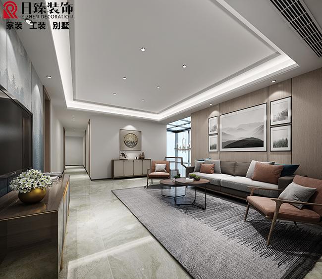 【日臻装饰】叠墅现代中式风格260平方,半包21.2万-施工中,陆续更新中