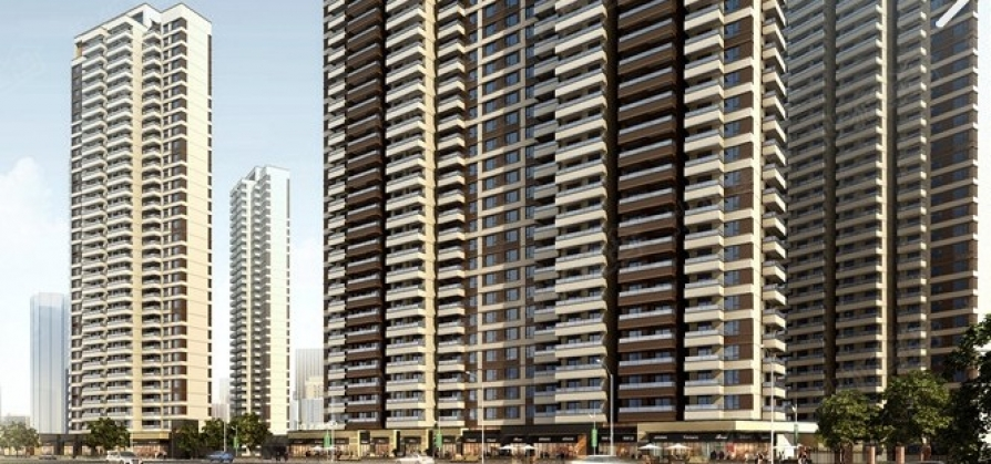 保利朗诗蔚蓝4室2厅2卫143平方产权房精装