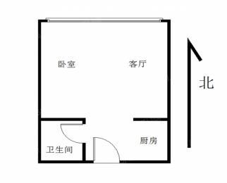 奥体金马郦城 精装修邻地铁 单身公寓 奥体商圈