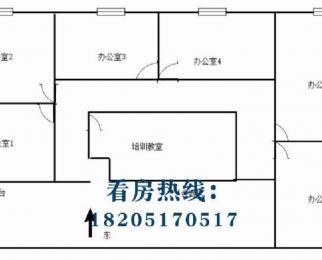南京南站 绿地之窗317平精装现房 7间隔断带家具