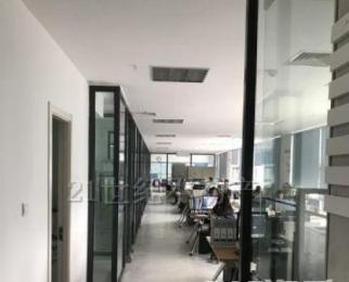 河西CBD 紫金西城中心 豪装全套办公家具可注册地铁口随时