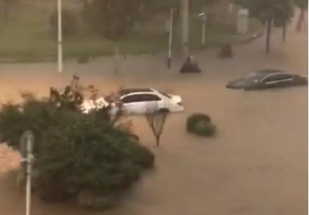 刚刚,南京暴雨袭城