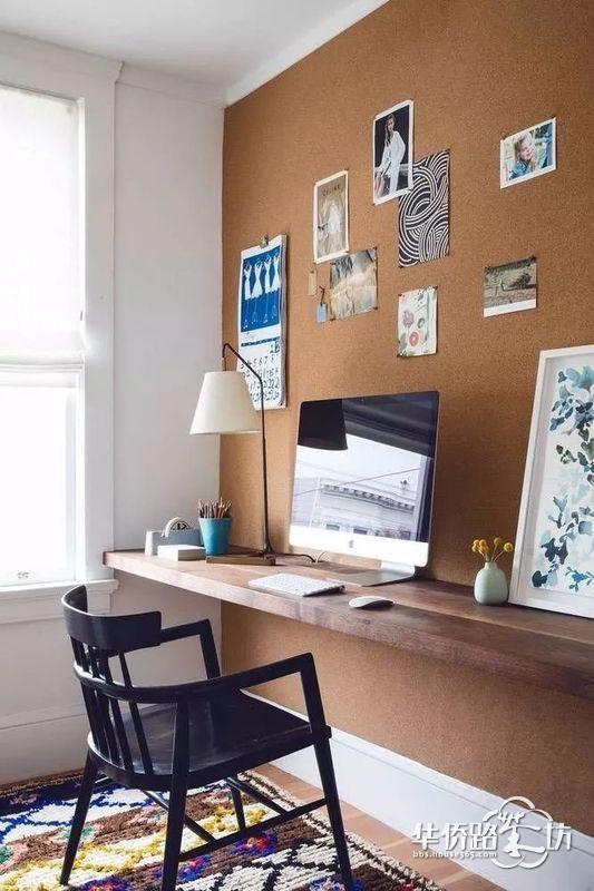 告别大白墙,现在都流行超有个性的软木板装饰术!