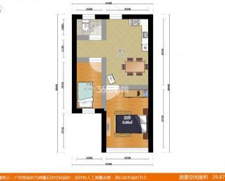 开源小区二村2室1厅1卫42平方产权房精装