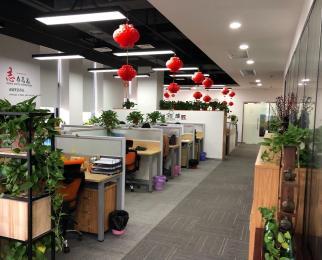 雨花客厅丰盛商会360平米 精装整租 有办公家具 可拎包办