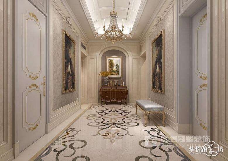 880平米法式风格别墅装修_据说有钱人都这样装,时髦到飞起!