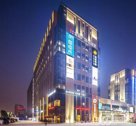 紫荆国际公寓2室2厅2卫58㎡整租精装