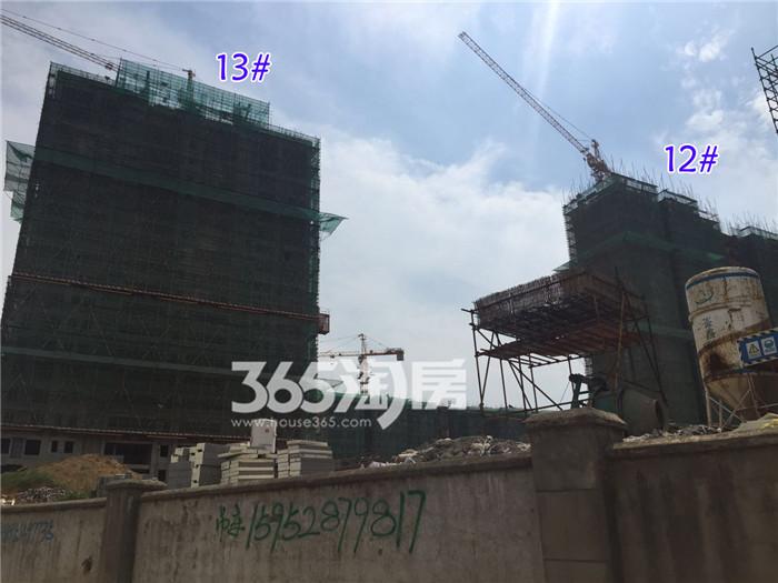 小编9月跑盘记:11#拆除了绿网,13#和12#初显真身!规划道路完工啦~