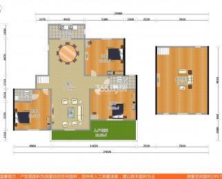保利紫晶山5室3厅3卫260平米2014年产权房简装