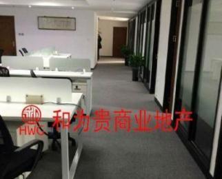正对电梯 长发科技 珠江路地铁口精装急租可注册室内实拍