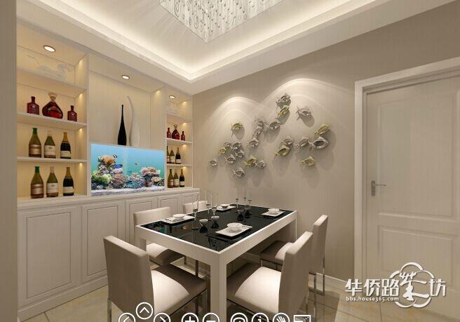 龙庭水岸80平两房两厅装修 现代简约风格,实用主义 浪漫主义