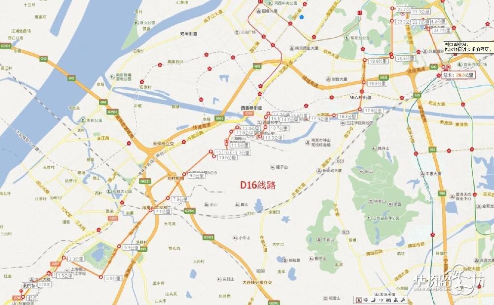 板桥新城迎来第二条快速公交d16