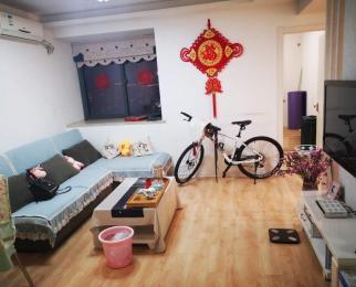 竹山路东渡国际青年城2室1厅1卫76平米整租精装