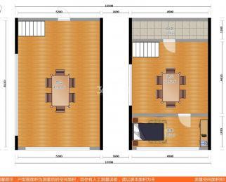 个人房源 5.33米挑高 双层 65年产权