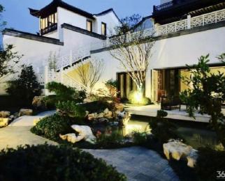 江宁中式别墅玖溪桃花源 靠石塘竹海景区 有院子和地下室车库