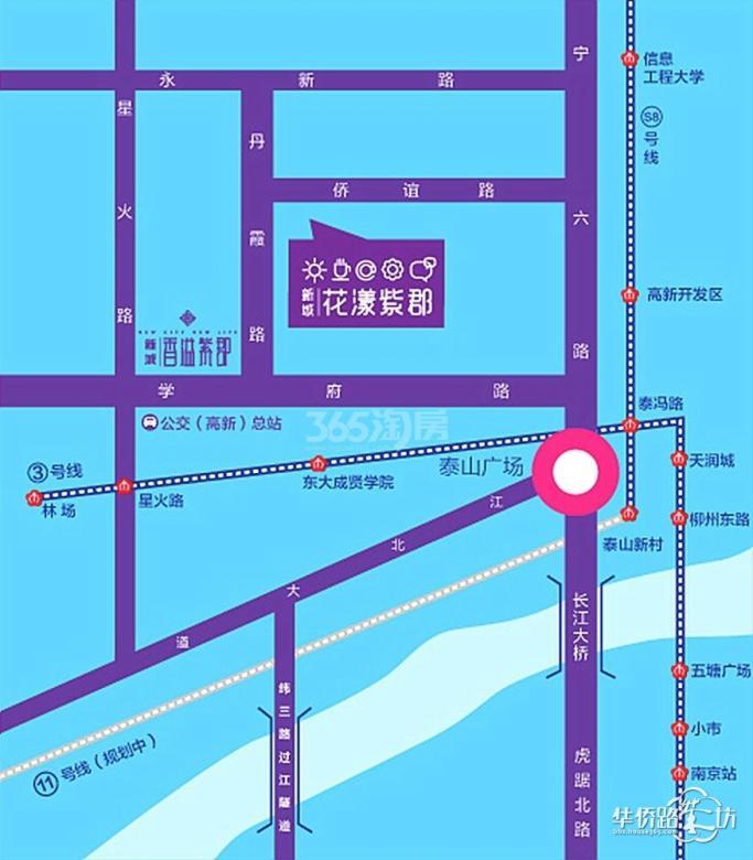 新城花漾紫郡装修案例赏析-南京江北全包装修公司
