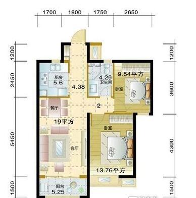 北城二期 瑞徽苑 精装两房 交通便利 购物方便