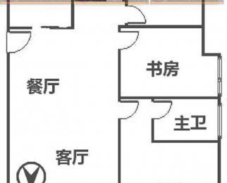 万达西地大露台 全天采光三房两卫 中央空调加地暖 仅此一户