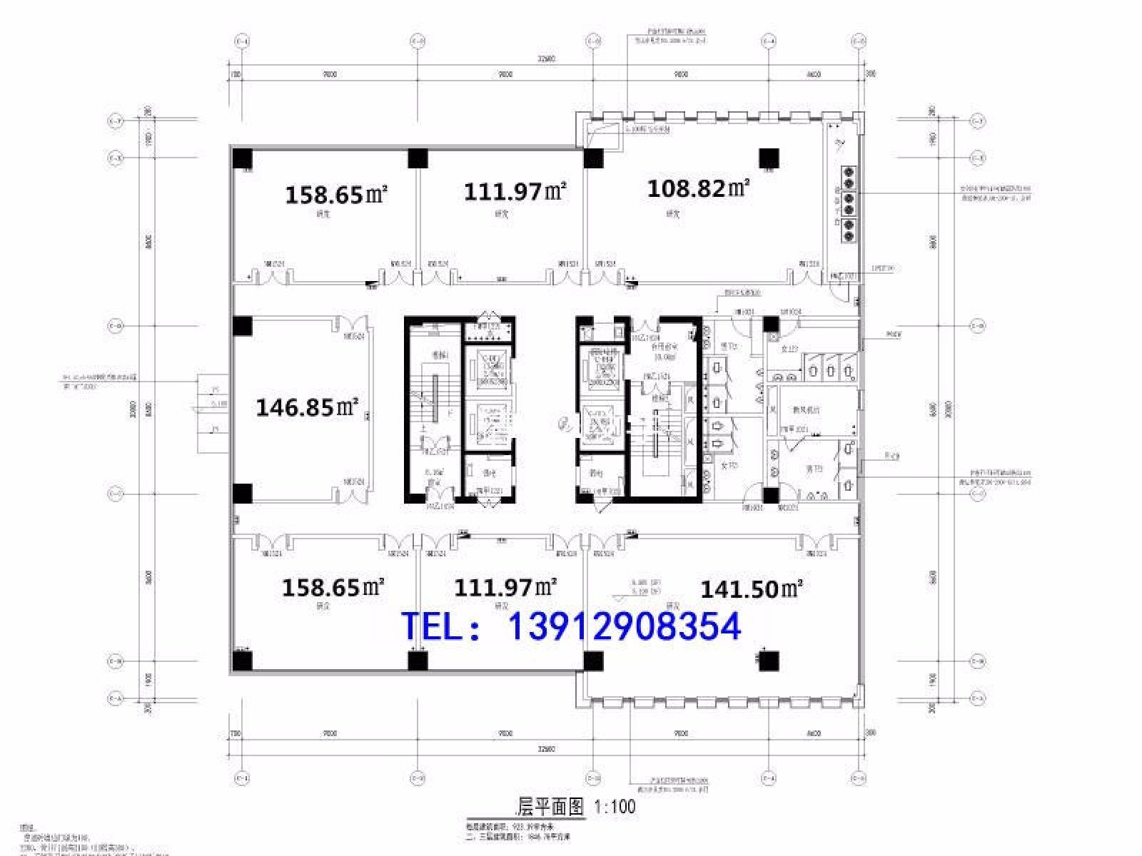 建邺区奥体君泰国际1室0厅户型图