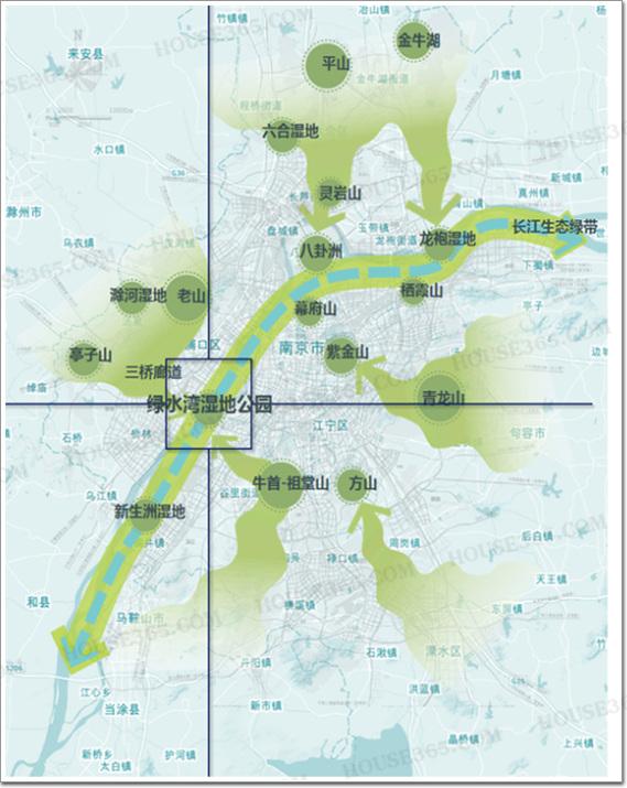 綠水灣濕地公園規劃公示#江北新區又出規劃,將投資50圖片