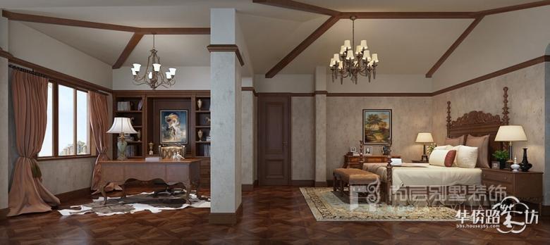 加州城500平米美式风格装修_轻奢有度·浪漫刚好