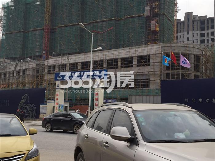 【工程进展篇】桂山堂终于露出庐山真面目!部分楼栋外立面已经完成,还有底层的绿网没有拆除