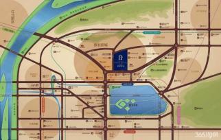 鼓北地区 葛洲坝招商澜园 沿街商铺 成本低 黄金地段
