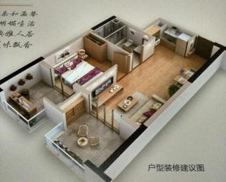 江北 万汇城 地铁公寓 现房 总价低