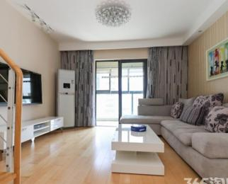 奥体河西CBD 仁恒G53公寓 新出复式两房 设施齐全保养新