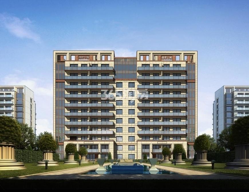中冶盛世滨江公寓1室1厅1卫31平米毛坯产权房2017年建
