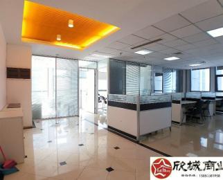 河西万达广场 特惠价5A纯写全套家具 拐角落地窗 双面采光