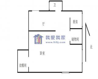 2号线 明故宫地铁口 后宰门 珠江路 富贵山 豪装 一室一厅 急租