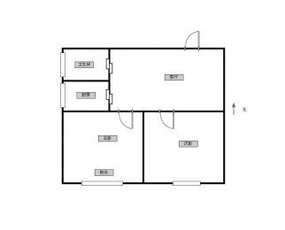 双龙大道地铁口南方花园B组团 朝南两房 拎包入住 随时看房
