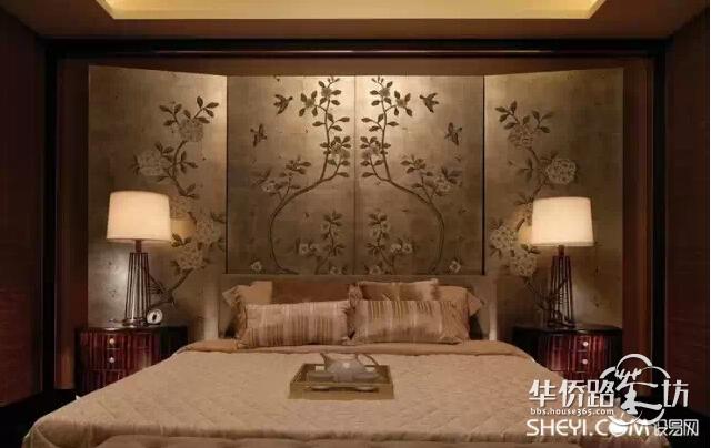 新中式卧室,现代禅意美