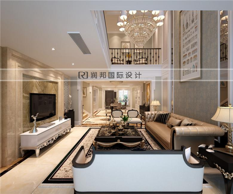 南京别墅装饰公司中式风格装修效果图餐厅效果图欣赏