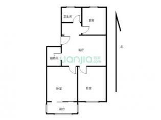 为你而选为你为家 两房朝南校区边上拎包入住采楼层好低于市场价