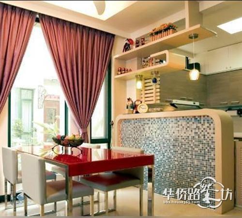 玄关 吧台 装修效果图欣赏 进门的享受 装饰建材