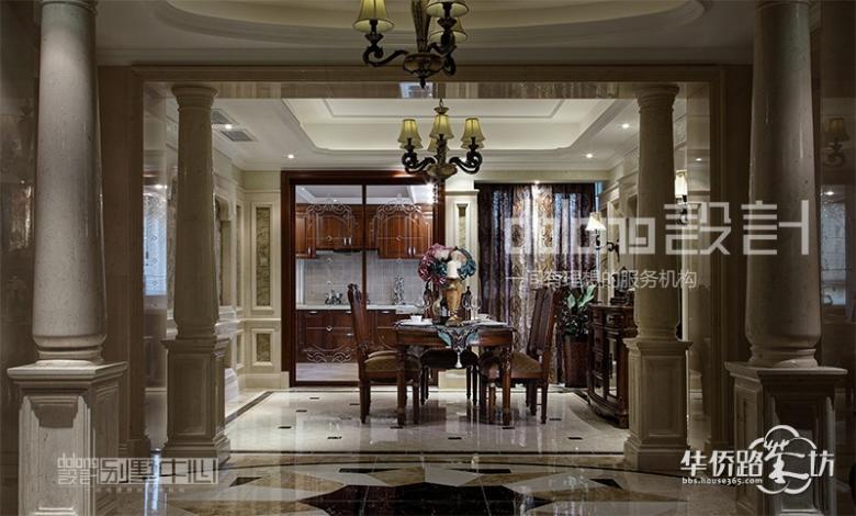 南京欧式别墅设计实景:香槟御景