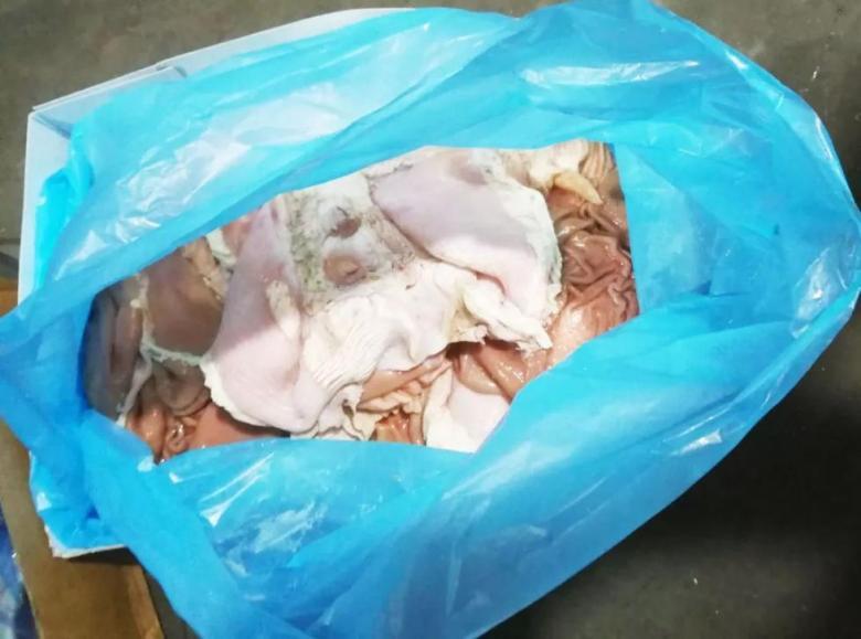 730吨、案值1500万元!中山警方截获大批走私冻肉,这些鸡翅、猪脚不要吃