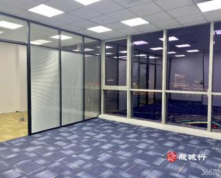 南京南站 高铁出差 绿地之窗 103平 精装全景落地窗
