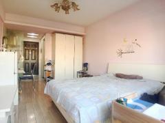 光华路 紫金明珠 单室套 超大落地窗 视野极佳 通透户型 总价低