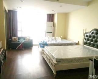 中环国际公寓 山西路 湖南路 玄武湖地铁口 拎包入住 家具