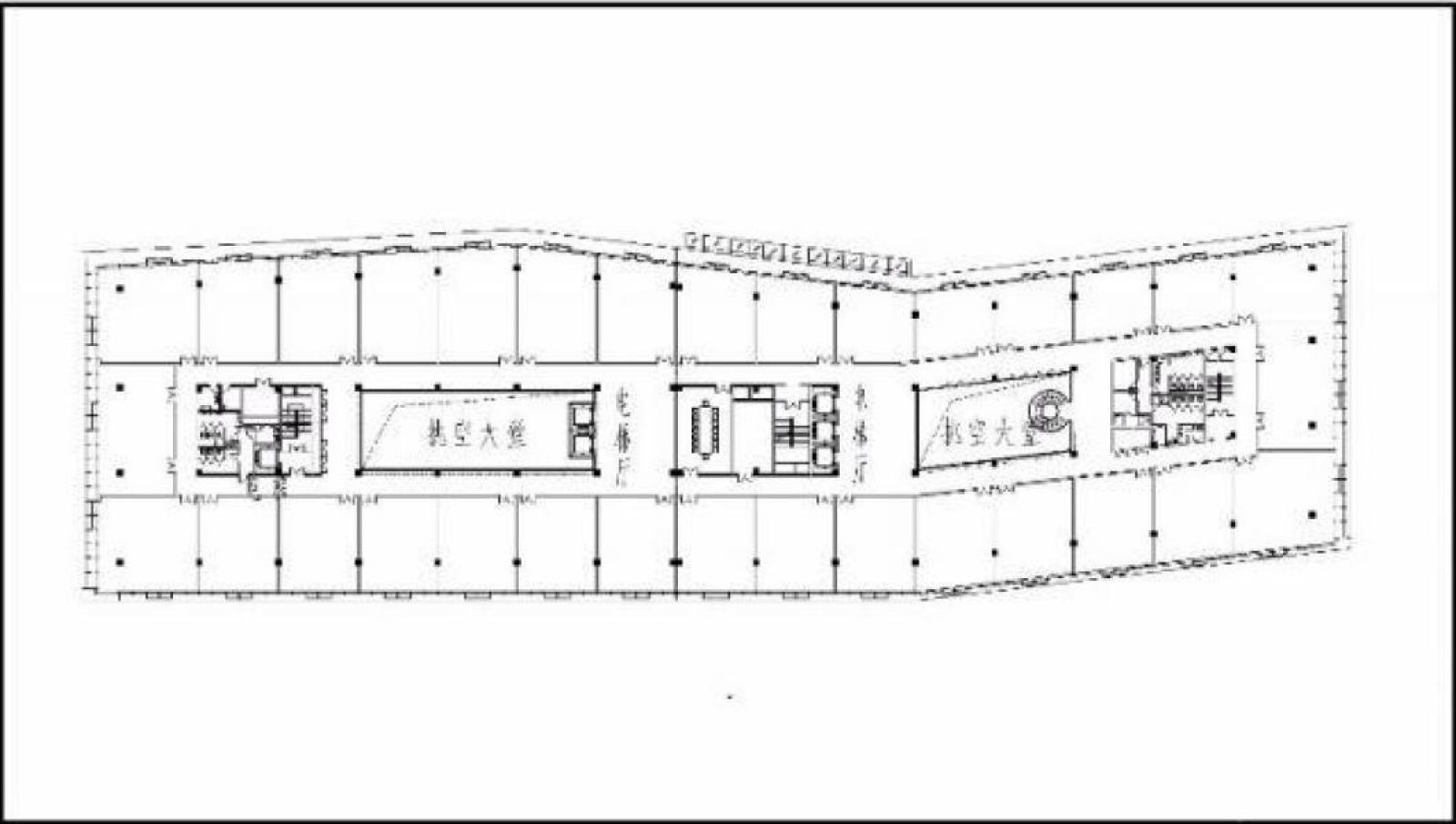 世茂海峡城 创意办公 326平 多种户型 精装 可分割 随时入驻