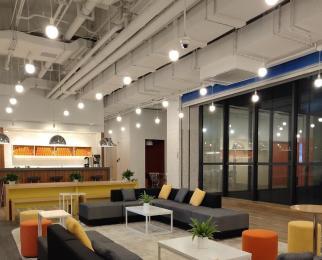 新地中心共享办公 豪华装修 面积自由组合 价格全含拎包办