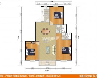 太平宝邸3室1厅2卫143平米2012年产权房豪华装
