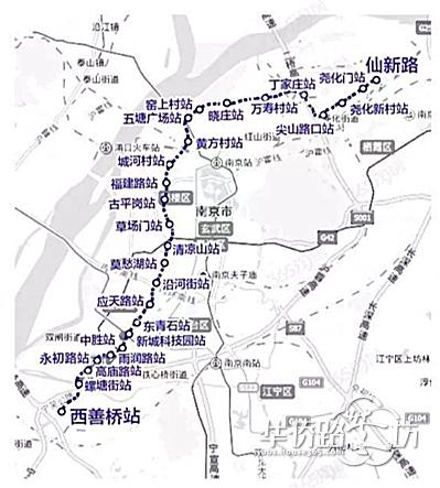 河西南地铁站点确定,高庙路站不取消,7号线年内开工预计2021年通车!