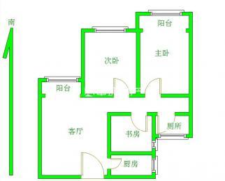 丁家庄燕舞园 毛坯三房两厅 无浪费地方 七号线 降价急售中等楼层
