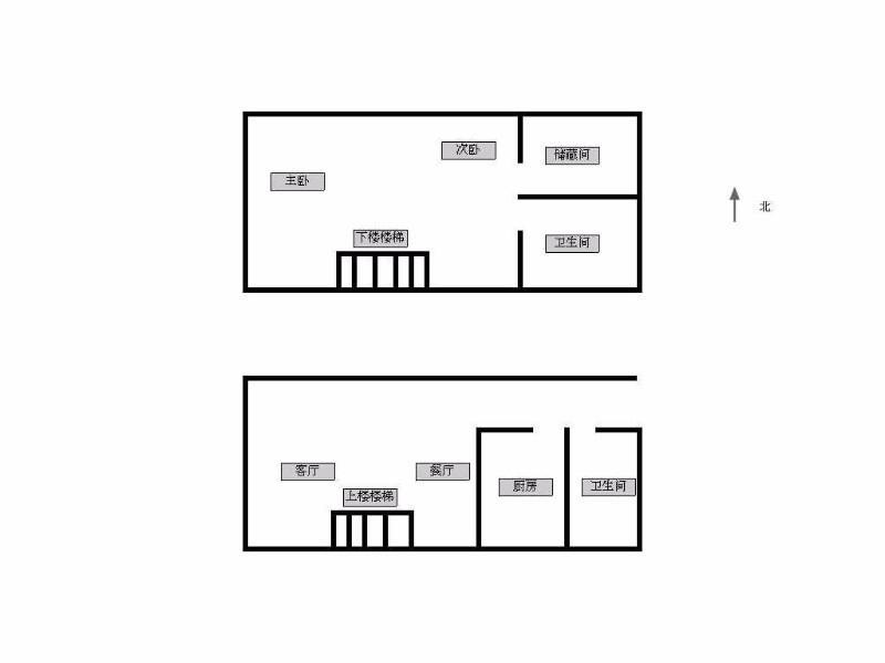 秦淮区瑞金路瑞鑫兰庭2室2厅户型图